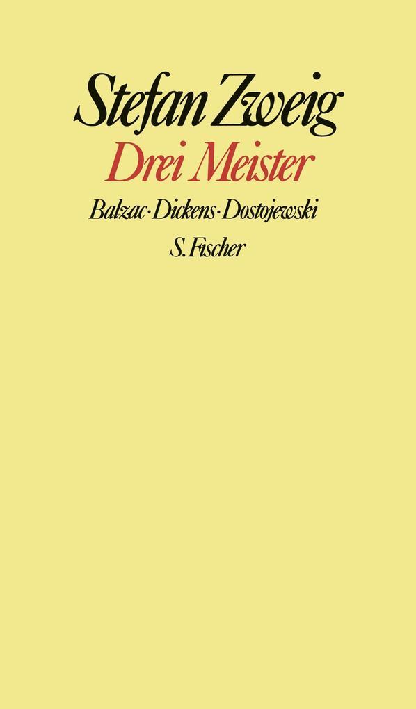 Drei Meister als Buch