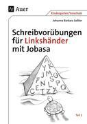 Schreibvorübungen für Linkshänder mit Jobasa Teil 2