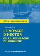 Le Voyage d'Hector ou la recherche du bonheur. Textanalyse und Interpretation zu François Lelord