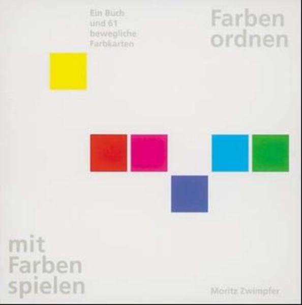 Farben ordnen, mit Farben spielen als Buch