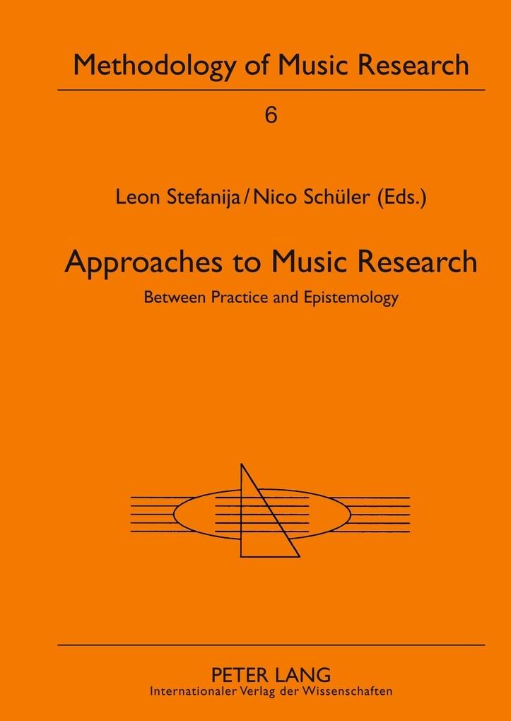 Approaches to Music Research als Buch von