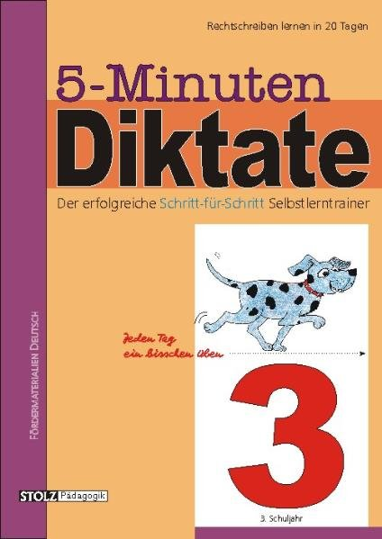 5-Minuten-Diktate. 3. Schuljahr als Buch