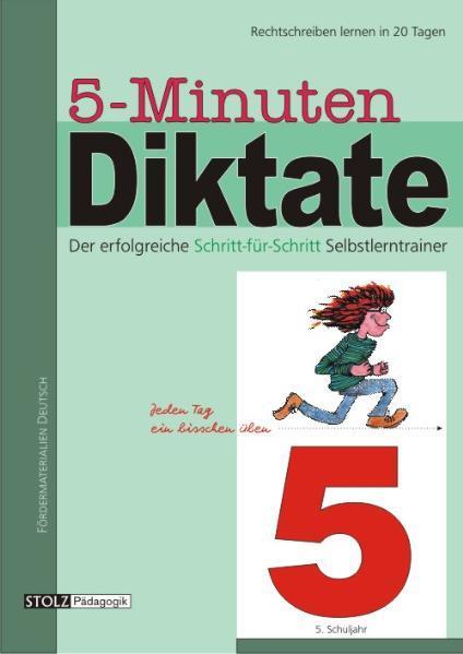 5-Minuten-Diktate 5. Schuljahr als Buch