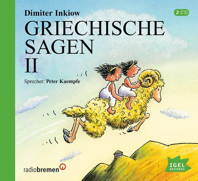 Griechische Sagen 2. 2 CDs als Hörbuch