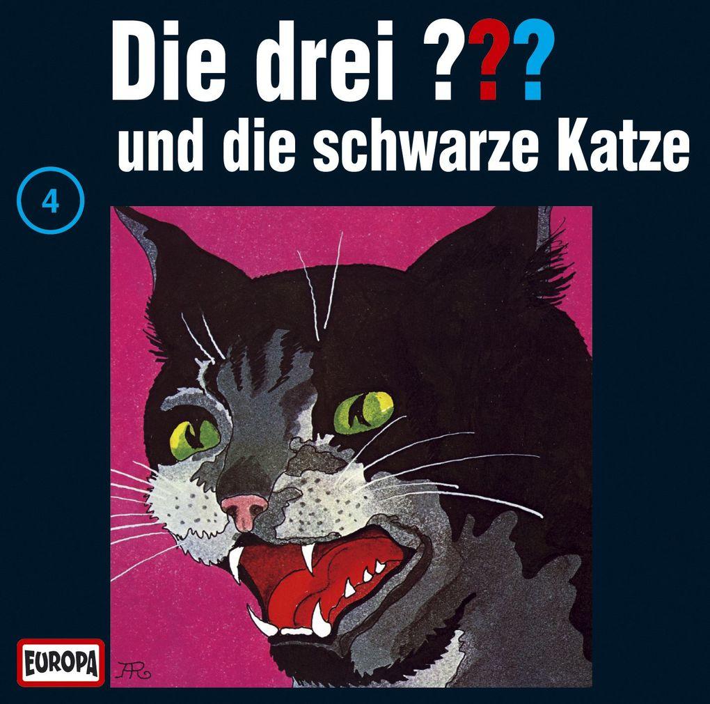 Die drei ??? 004 und die schwarze Katze (drei Fragezeichen) CD als Hörbuch