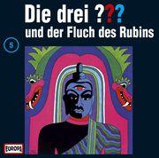 Die drei ??? 005 und der Fluch des Rubins (drei Fragezeichen). CD