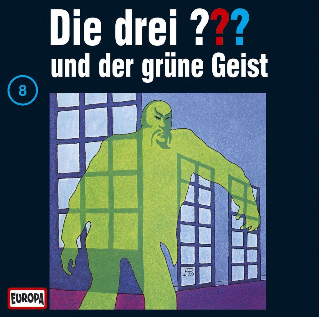 Die drei ??? 008 und der grüne Geist (drei Fragezeichen) CD als CD