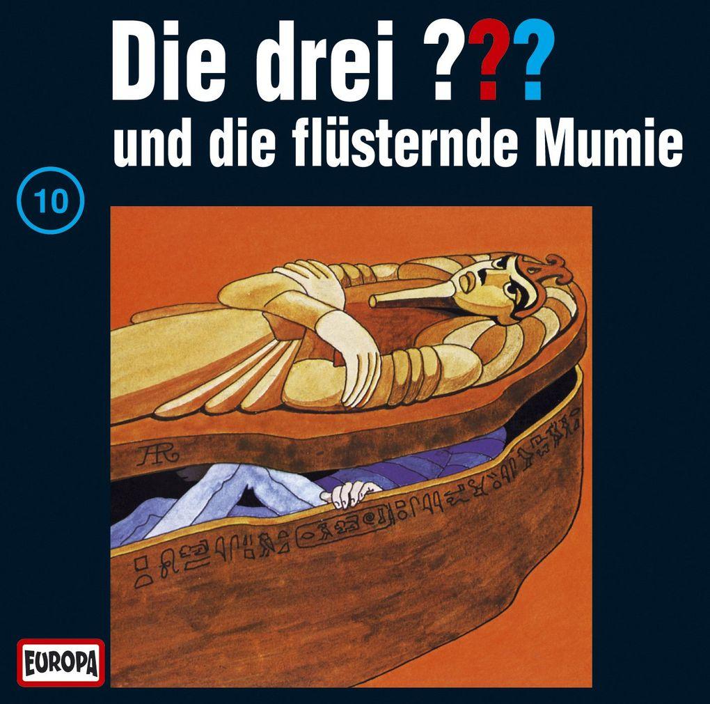 Die drei ??? 010 und die flüsternde Mumie (drei Fragezeichen) CD als Hörbuch