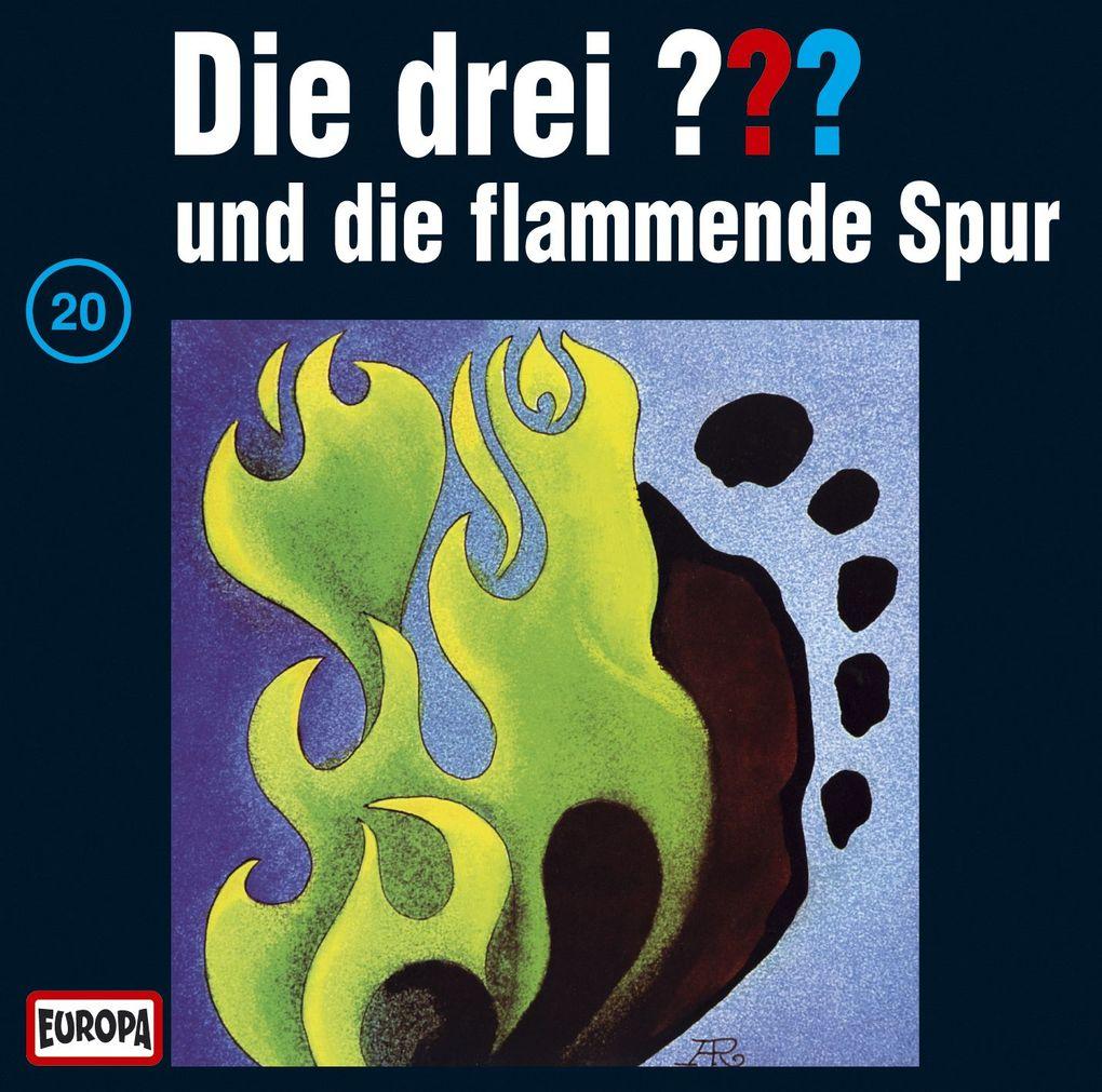 Die drei ??? 020 und die flammende Spur (drei Fragezeichen) CD als Hörbuch