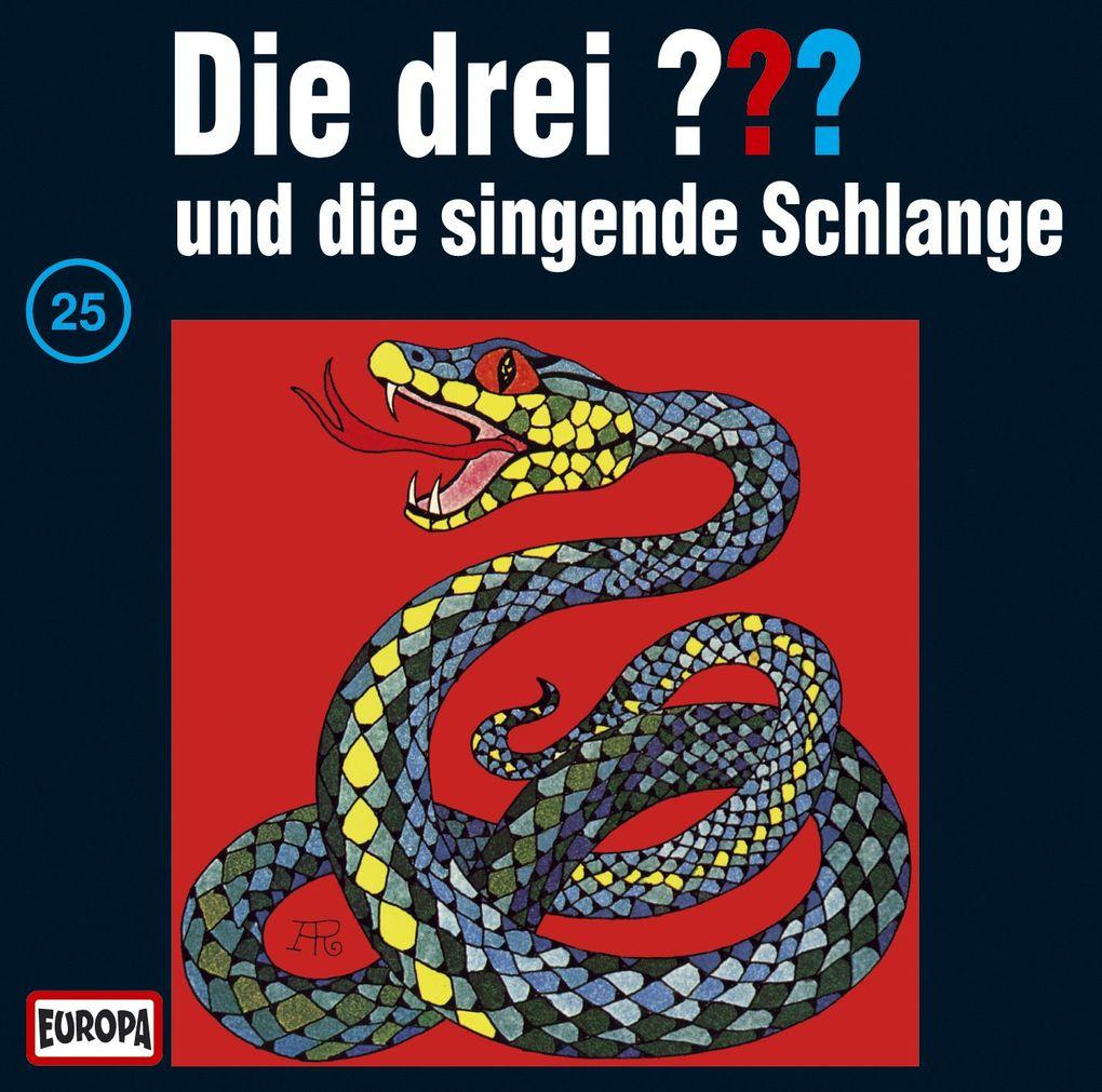 Die drei ??? 025 und die singende Schlange (drei Fragezeichen) CD als Hörbuch