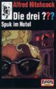Die drei ???, Spuk im Hotel (Folge 62) als CD