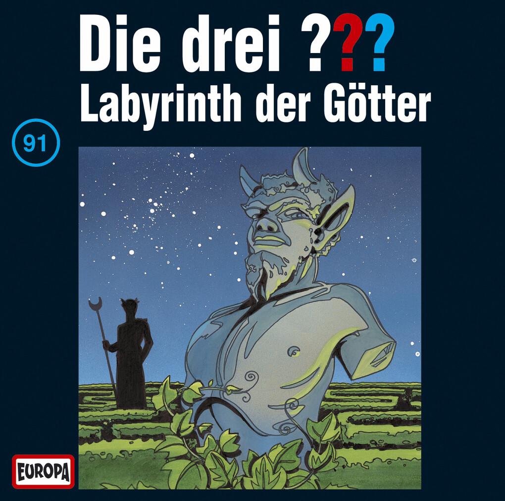 Die drei ??? 091. Labyrinth der Götter (drei Fragezeichen) CD als Hörbuch