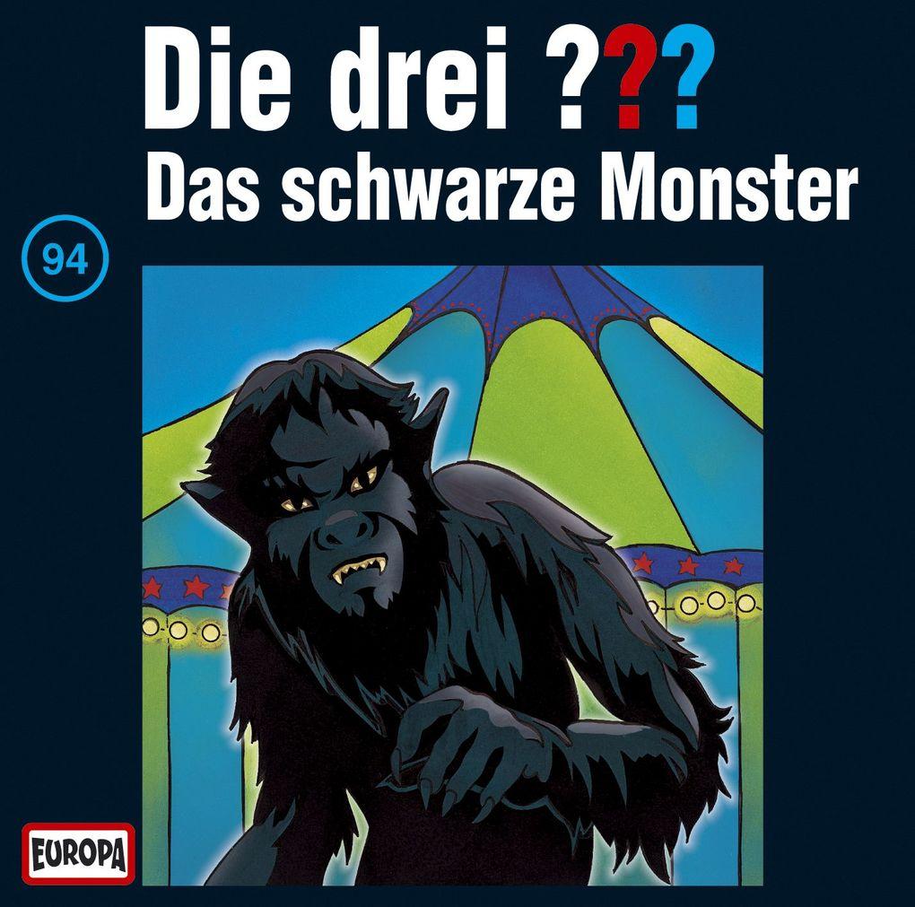Die drei ??? 094. Das schwarze Monster (drei Fragezeichen) CD als Hörbuch