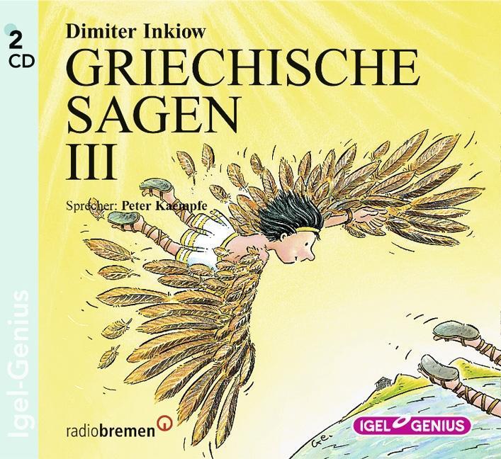 Griechische Sagen 3. 2 CDs als Hörbuch
