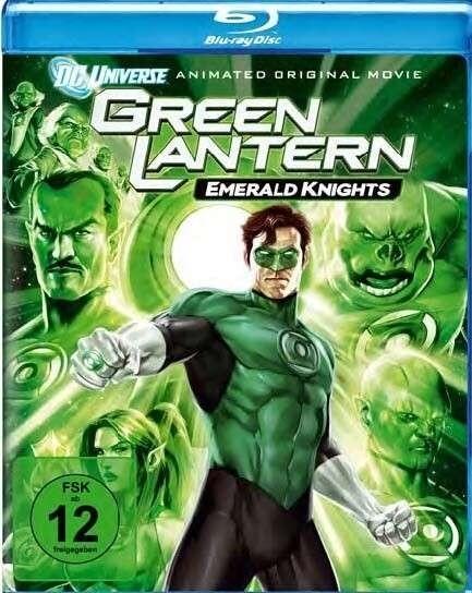 Green Lantern: Emerald Knights als Blu-ray