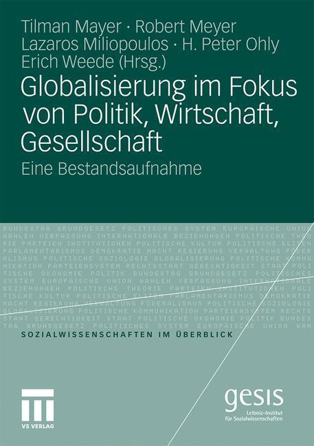 Globalisierung im Fokus von Politik, Wirtschaft...