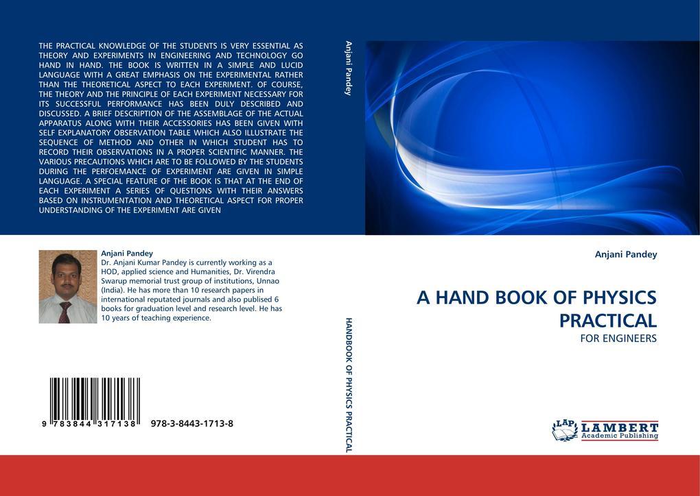 A HAND BOOK OF PHYSICS PRACTICAL als Buch (gebunden)
