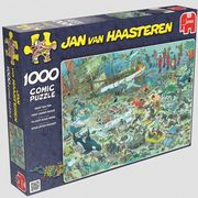 Jumbo Spiele - Puzzle - Jan van Haarsteren - Unterwasserwelt, 1000 Teile