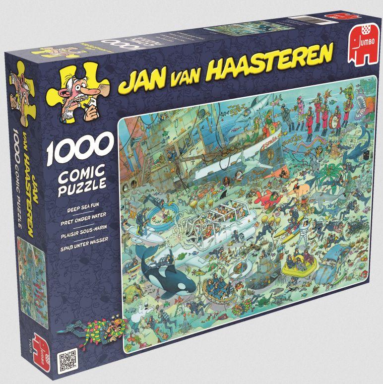 Unterwasserwelt. Puzzle 1000 Teile