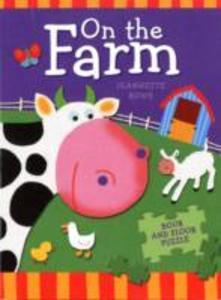 On The Farm Book And Floor Puzzle als Taschenbuch