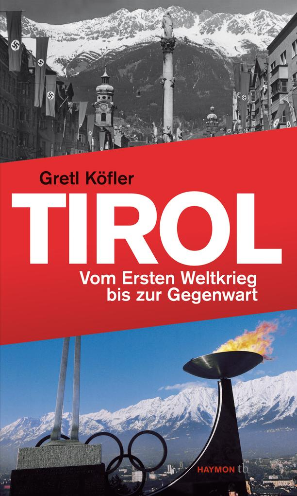 Tirol als Buch (kartoniert)