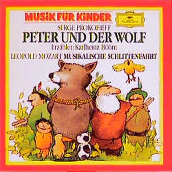 Peter und der Wolf op. 67 / Musikalische Schlittenfahrt F-dur. CD als Hörbuch