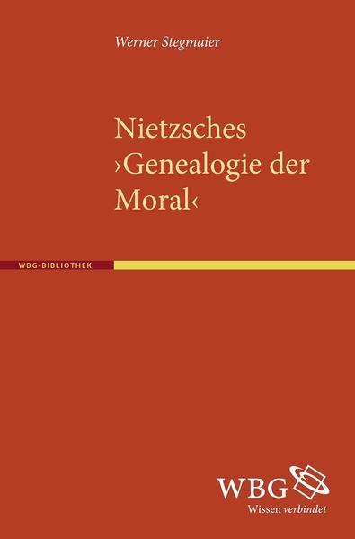 """Nietzsches """"Genealogie der Moral"""" als Buch (gebunden)"""