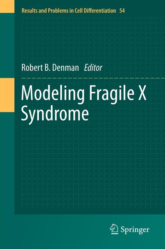 Modeling Fragile X Syndrome als Buch von