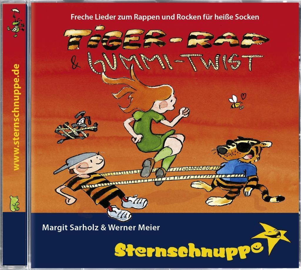 Tiger-Rap und Gummi-Twist. CD als Hörbuch CD