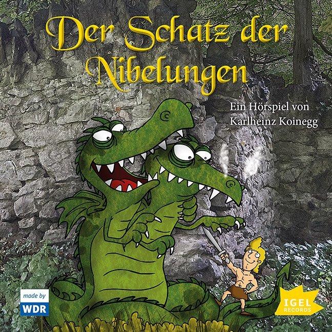 Der Schatz der Nibelungen. CD als Hörbuch