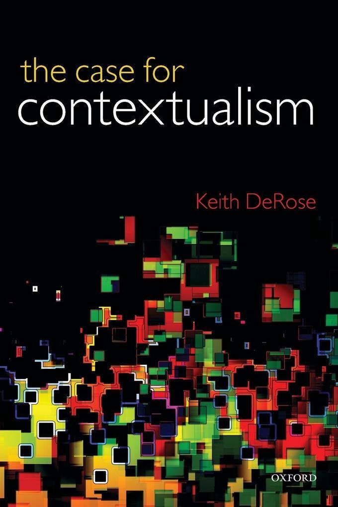 Case for Contextualism, Volume 1 als Taschenbuch