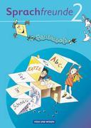 Sprachfreunde 2. Schuljahr. Ferienspaß mit Freunden 2. Arbeitsheft. Ausgabe Nord/Süd