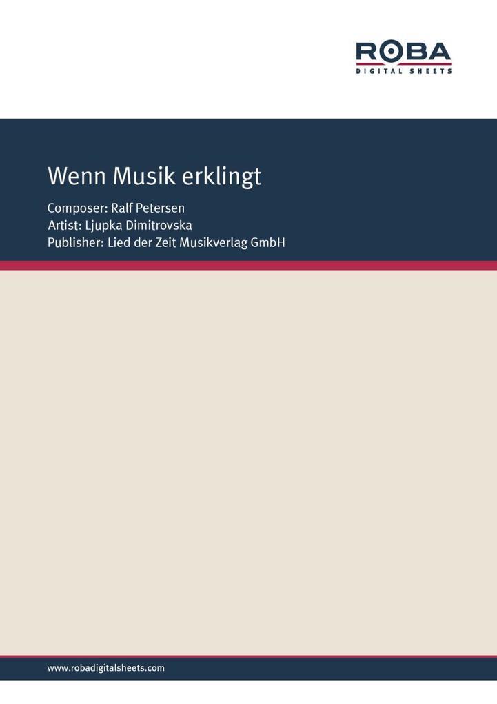Wenn Musik erklingt als eBook pdf