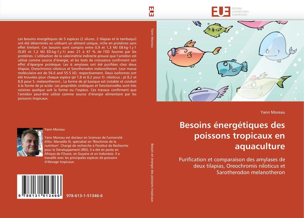 Besoins énergétiques des poissons tropicaux en aquaculture als Buch (gebunden)