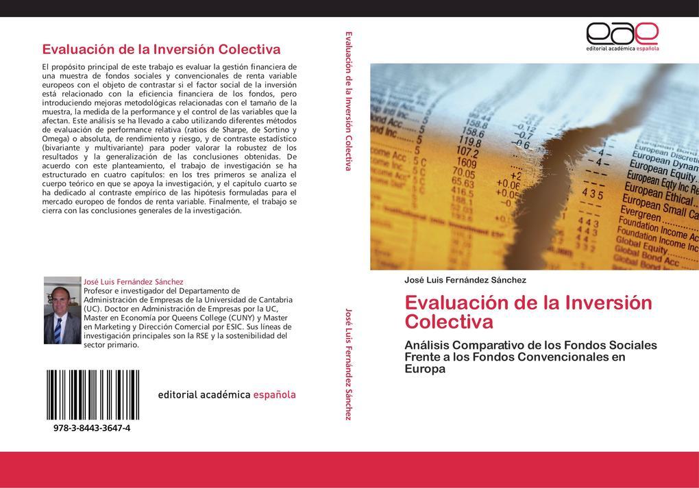 Evaluación de la Inversión Colectiva als Buch (gebunden)