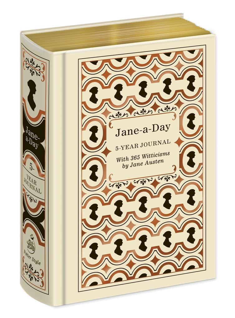 Potter Style: Jane-a-Day 5 Year Journal als Sonstiger Artikel