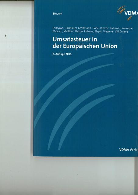 Umsatzsteuer in der Europäischen Union als Buch...
