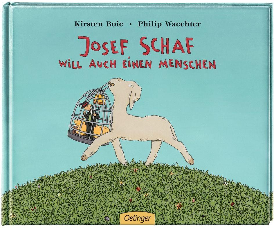 Josef Schaf will auch einen Menschen als Buch