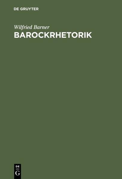 Barockrhetorik als Buch