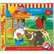 Benjamin Blümchen 085. ... als Tierarzt. CD