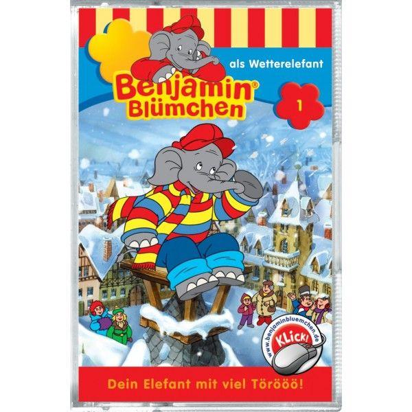 Benjamin Blümchen 001. als Wetterelefant. Cassette als Hörbuch