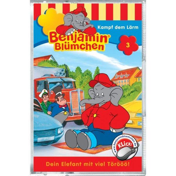 Benjamin Blümchen 003. Kampf dem Lärm. Cassette als Hörbuch