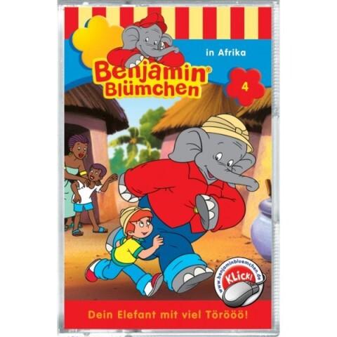 KIDDINX - MC Benjamin Blümchen ' in Afrika (Folge 4) als Audio-Cassette