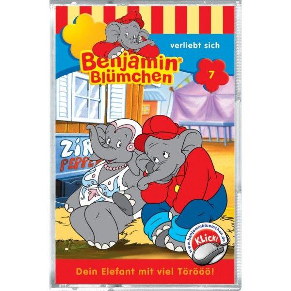 Benjamin Blümchen 007. ... verliebt sich. Cassette als Hörbuch