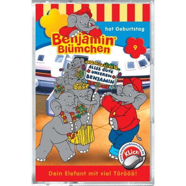 Benjamin Blümchen 009. hat Geburtstag. Cassette als Hörbuch