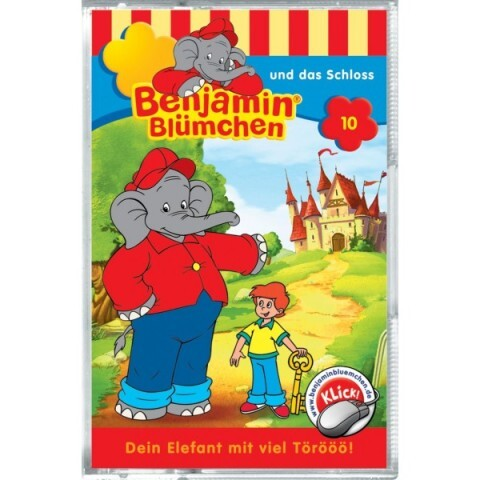 Benjamin Blümchen: Folge 010:...und das Schloá als Audio-Cassette