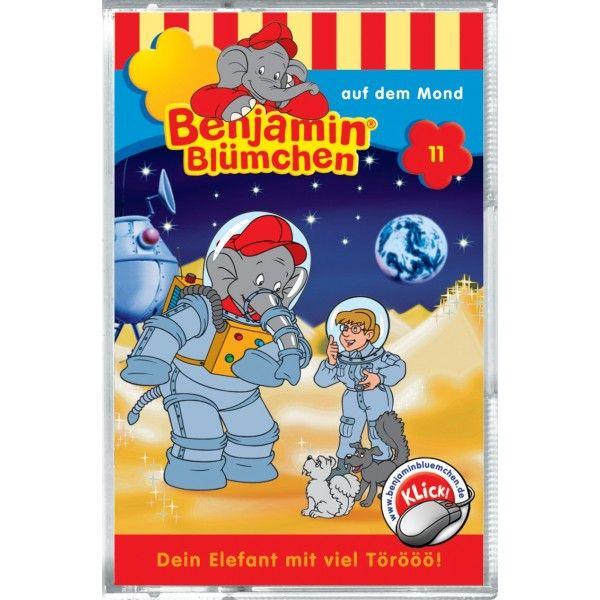 Benjamin Blümchen: Folge 011: auf dem Mond als CD