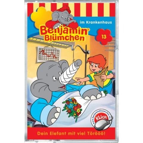 Benjamin Blümchen: Folge 013: im Krankenhaus als Audio-Cassette