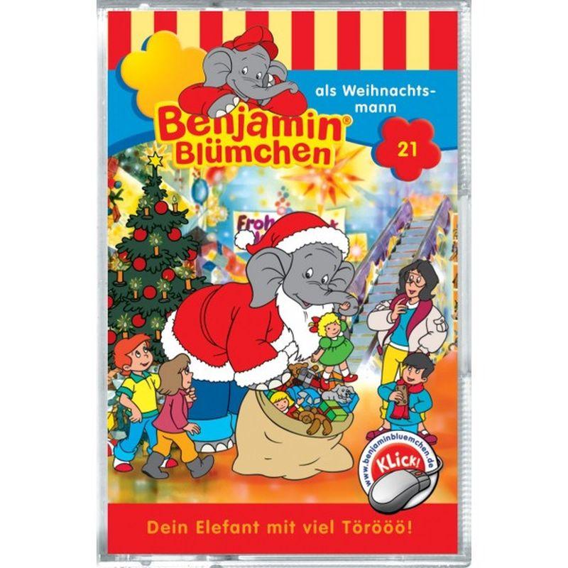 Benjamin Blümchen als Weihnachtsmann, 1 Cassette als Hörbuch