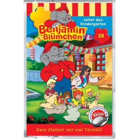 Folge 028:...rettet den Kindergarten als Hörbuch